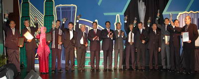 Naim Creates History : MCIEA 2004 Awards