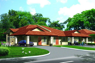 Naim Launch Red Palm Designed Houses At Phase 25 Of Desa Ilmu, Kota Samarahan
