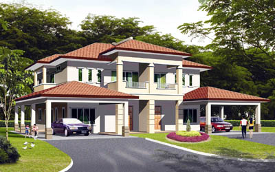 Limited Units Of Allamanda Design Houses At The Riveria