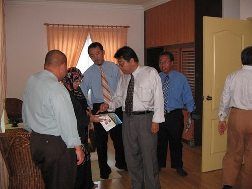 Visitors From The Brunei's Ministry Of Development And Housing Development Department