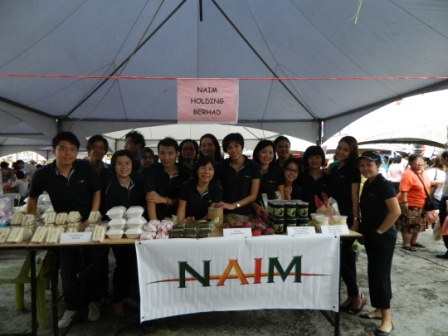 Naim @ Lets Light Up Our Love Charity Food Fair