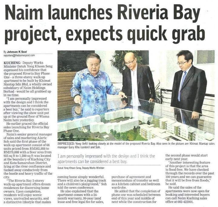 20120104 - BP- NAIM Riveria Launching