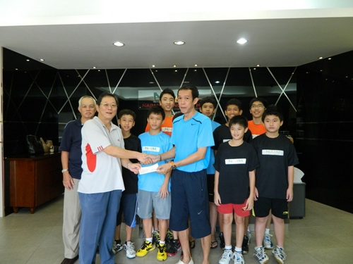 Sponsorship for the Pacific Badminton Management Junior Development Programme