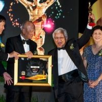 Naim is awarded the BrandLaureate Conglomerate Awards 2011-2012 by The BrandLaureate Best Brands Awards, Sunway Resort Hotel & Spa