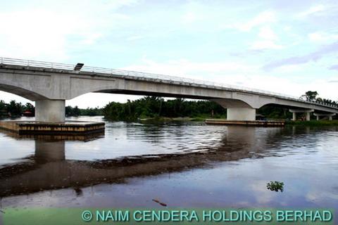 Balingian Bridge, Mukah, Sarawak