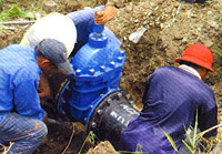 Laying of Water Pipelines for Rural Areas in Sarawak