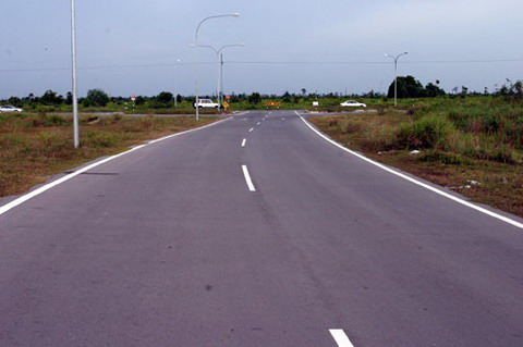 Access Road from Kuala Baram Highway to Curtin University, Sarawak