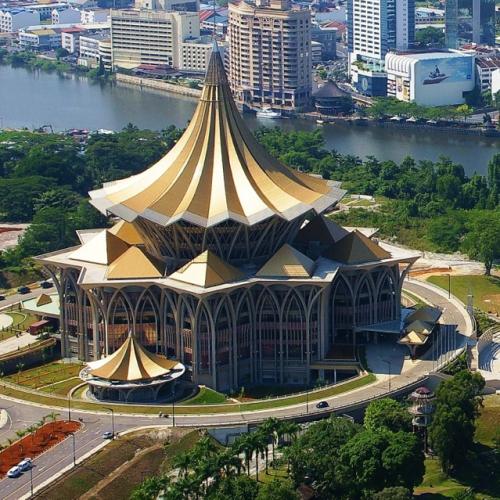 State Legislative Assembly [Dewan Undangan Negeri (DUN)] Complex, Kuching, Sarawak