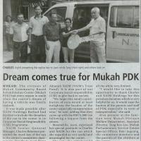 Naim sponsors Mukah Community Rehabilitation Centre