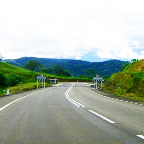 Kings Road from Waito to Wailotua, Fiji