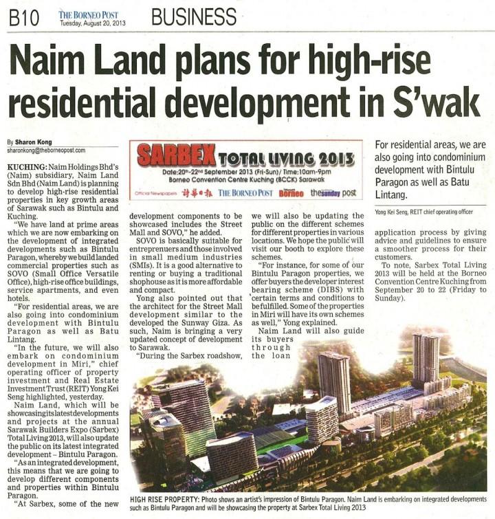 Naim Land plans for high-rise residential development in ...