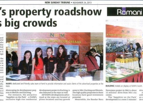 NAIM's property roadshow draws big crowds