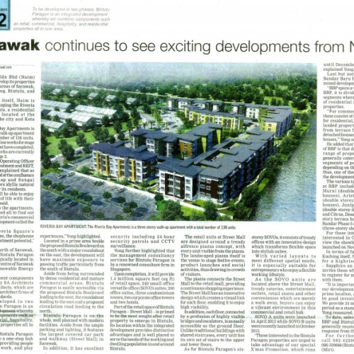 Sarawak continues to see exciting developments from Naim