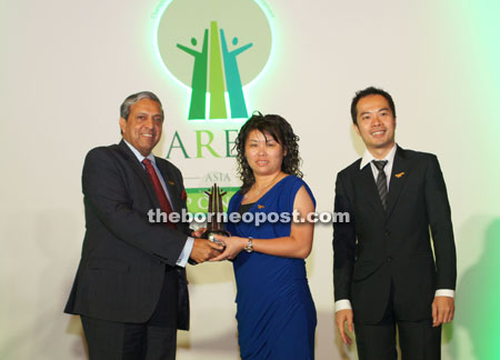Naim clinches AREA 2014 award for CSR efforts