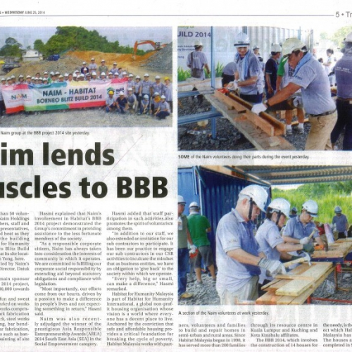 Naim lends muscles to BBB