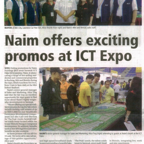 Naim offers exciting promos at ICT Expo