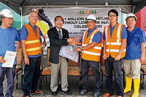 Naim clocks 1 million manhours without LTI