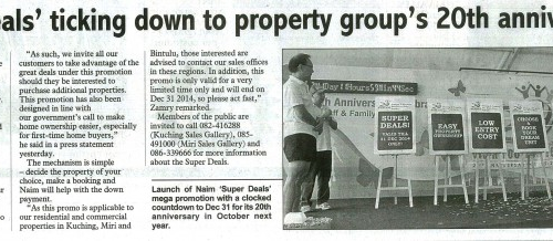 'Super Deals' ticking down to property group's 20th anniversary