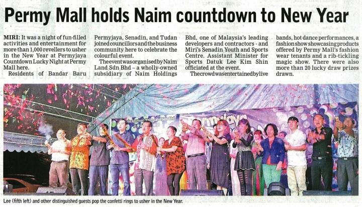 The Borneo Post - 3 January 2015