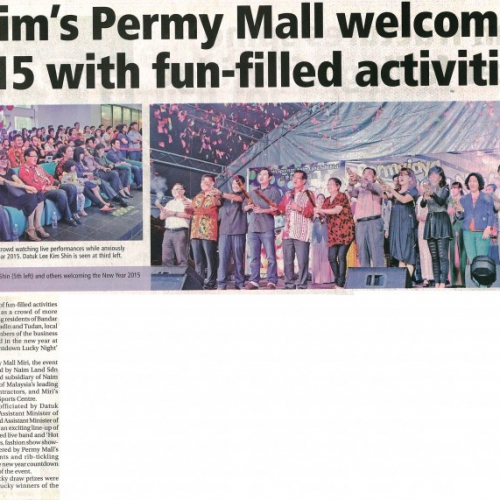 Naim's Permy Mall welcomes 2015 with fun-filled activities