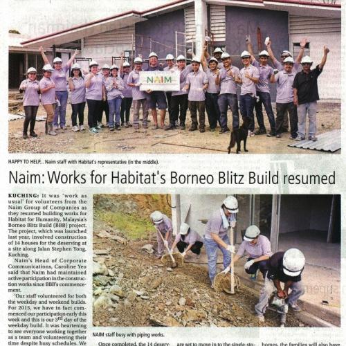 Naim: Works for Habitat's Borneo Blitz Build resumed