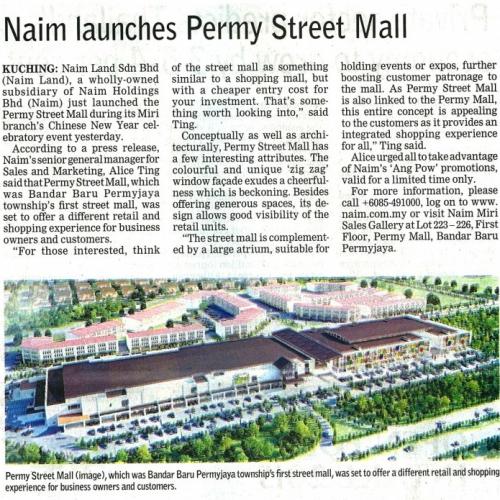 Naim launches Permy Street Mall