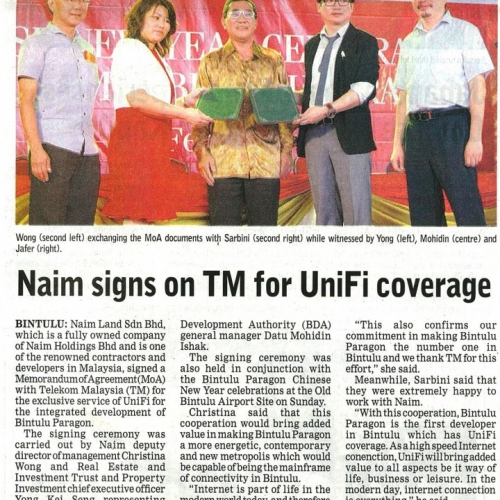 Naim signs on TM for UniFi coverage