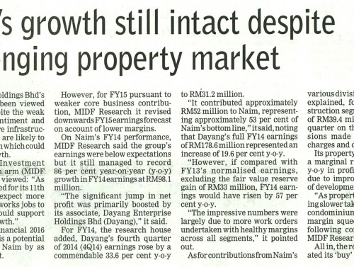 Naim's growth still intact despite challenging property market