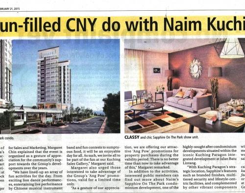A fun-filled CNY do with Naim Kuching