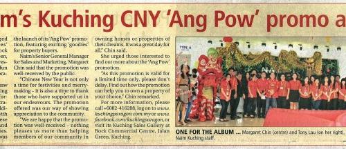 Naim's Kuching CNY 'Ang Pow' promo a hit
