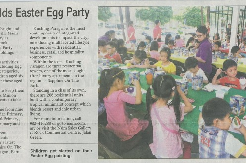 Naim holds Easter Egg Party