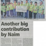 Another Big Contribution by NAIM