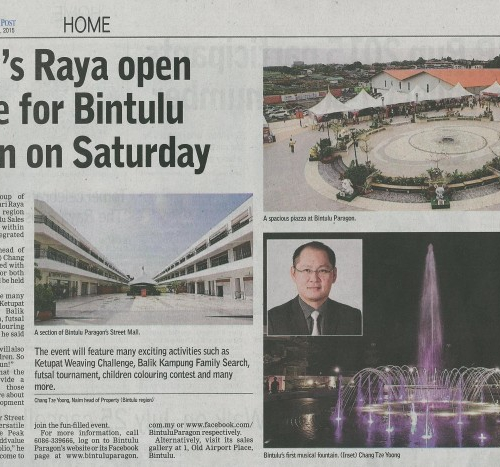 Naim's Raya open house for Bintulu region on Saturday
