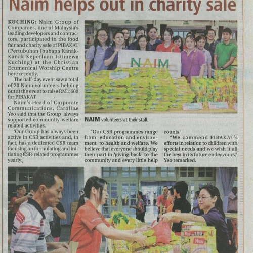 Naim helps out in charity sale