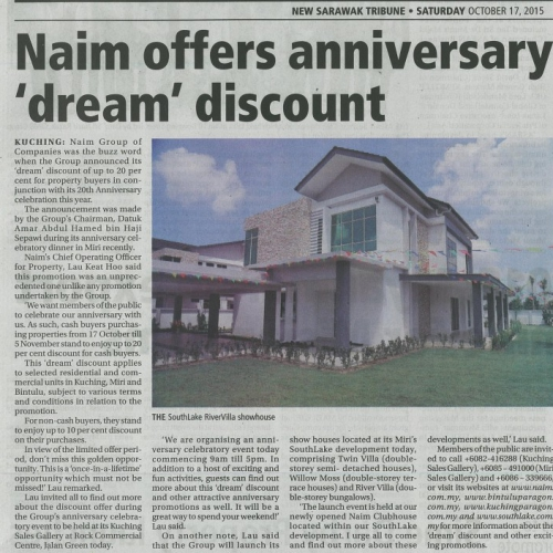 Naim offers anniversary 'dream' discount