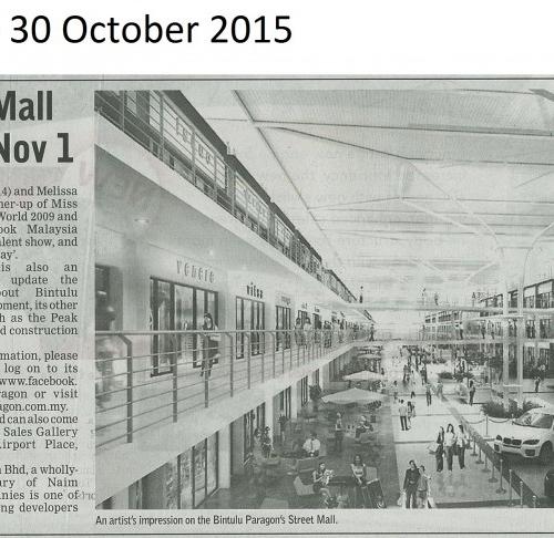 Paragon's Street Mall set for launching Nov 1