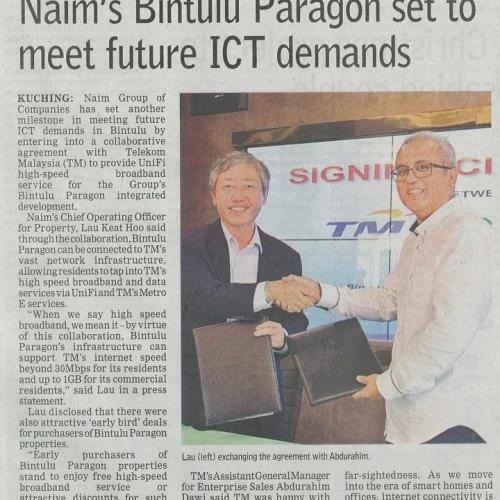 Naim's Bintulu Paragon set to meet future ICT demands