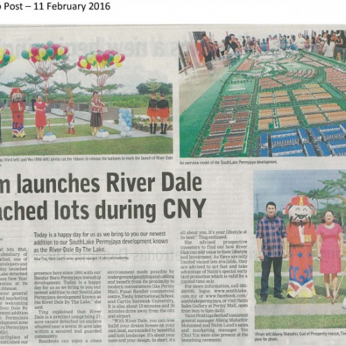 Naim launches River Dale detached lots during CNY