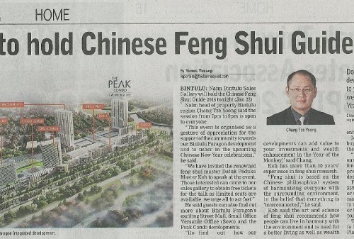 Naim to hold Chinese Feng Shui Guide 2016