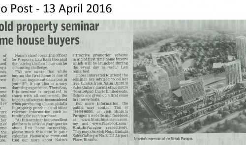 Naim to hold property seminar for first-time house buyers