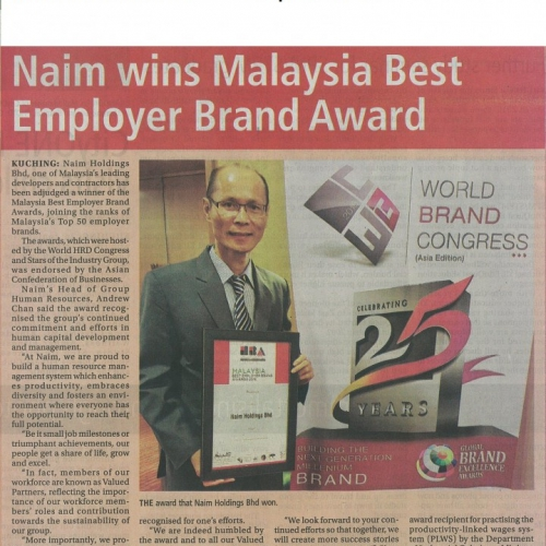 Top 50 Best Employers Award 2016