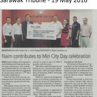 Naim contributes to Miri City Day celebration