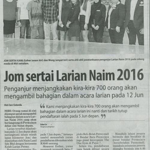 Jom sertai Larian Naim 2016