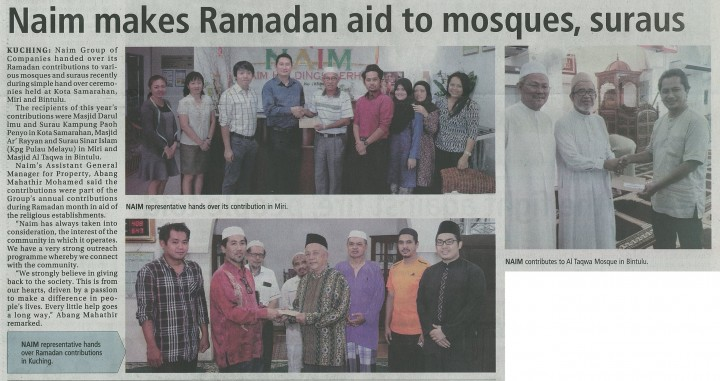 TRI_Naim makes Ramadan aid to mosques suraus-0001