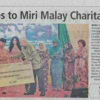 Naim Contributes to Miri Malay Charitable Trust Board