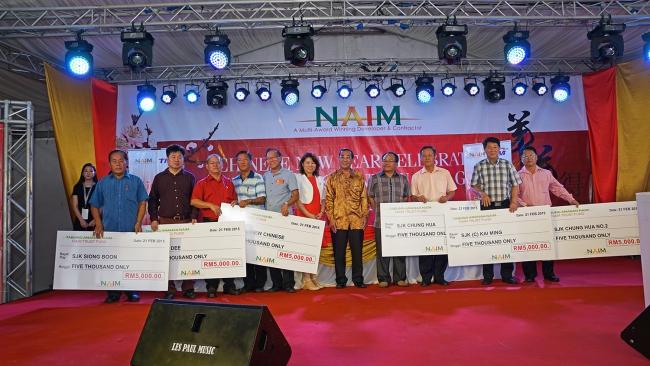 Financial Contributions To Bintulu Schools, Sarawak
