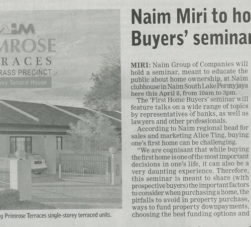 Naim Miri to host 'First Home Buyers' seminar this April 8