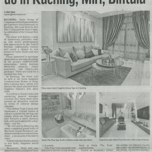 Naim to host special festive do in Kuching, Miri, Bintulu