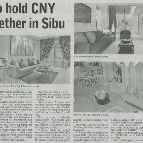 Naim to hold CNY get-together in Sibu