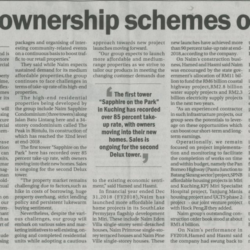 Easy ownership schemes offered